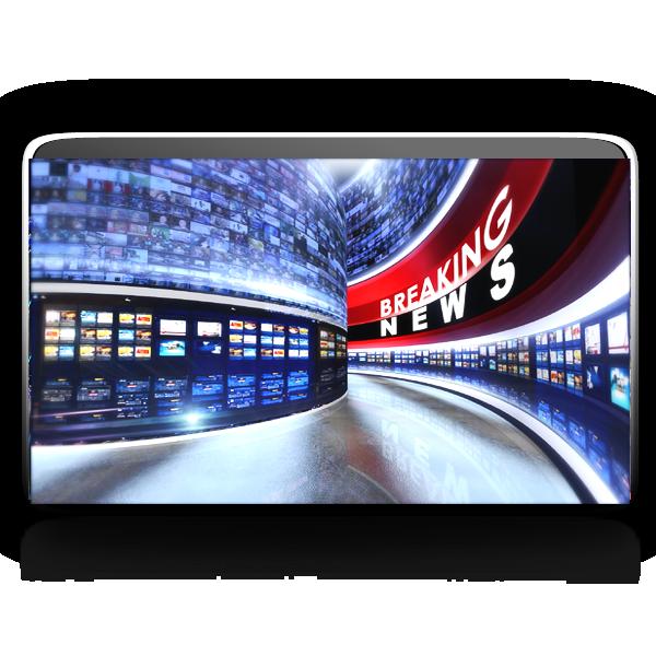 News Studio Background Png
